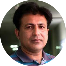 color portrait image of team member tanveer ul islam